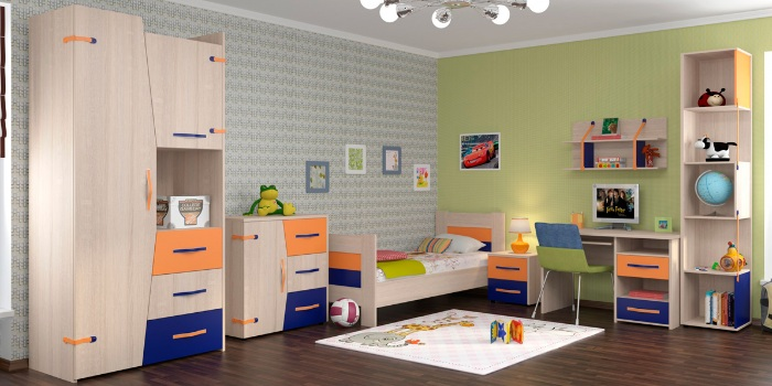 детская мебель на заказ в воронеже Vittoria